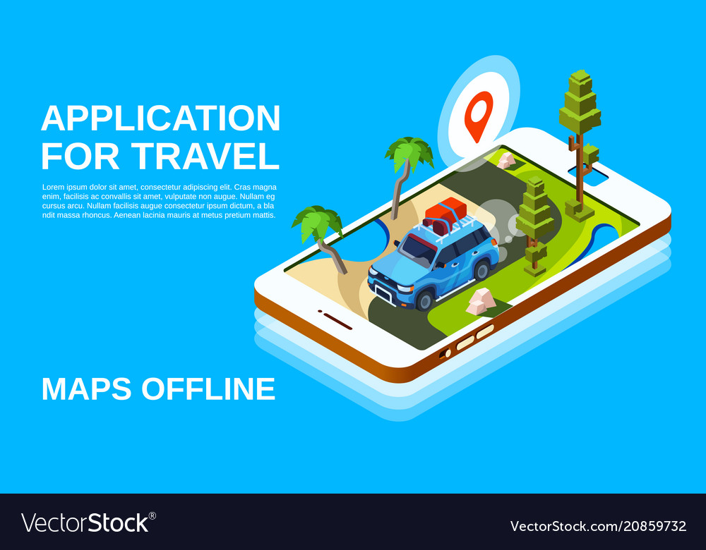 Travel maps application