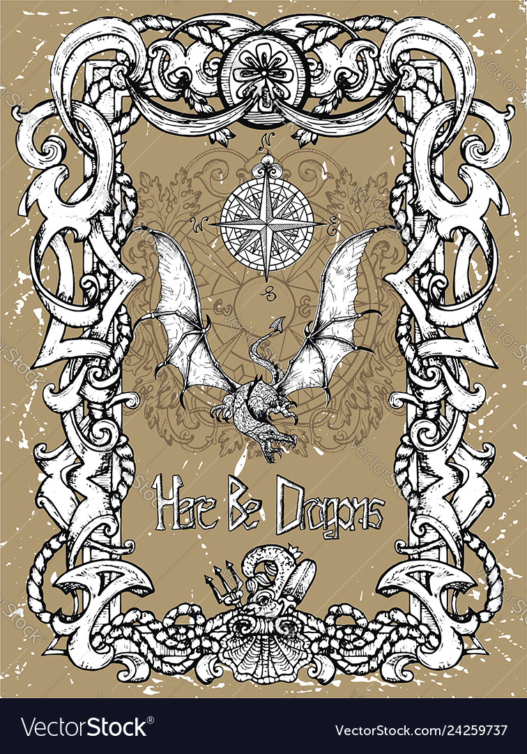 Fantasy Art Compass