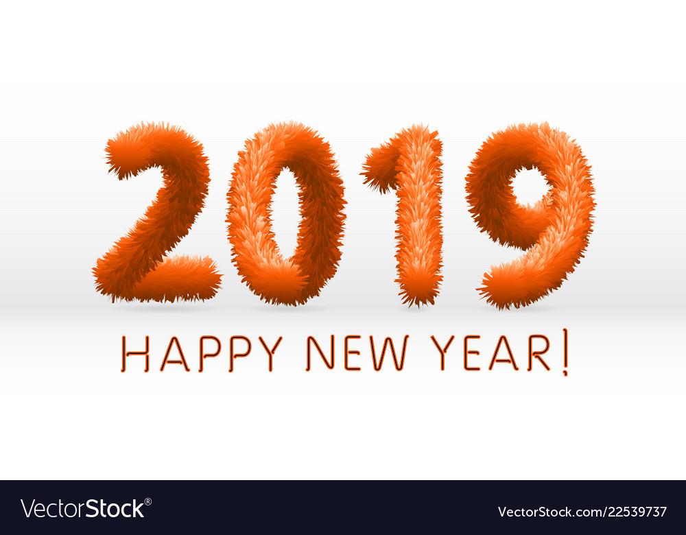 Happy New Year Orange 5
