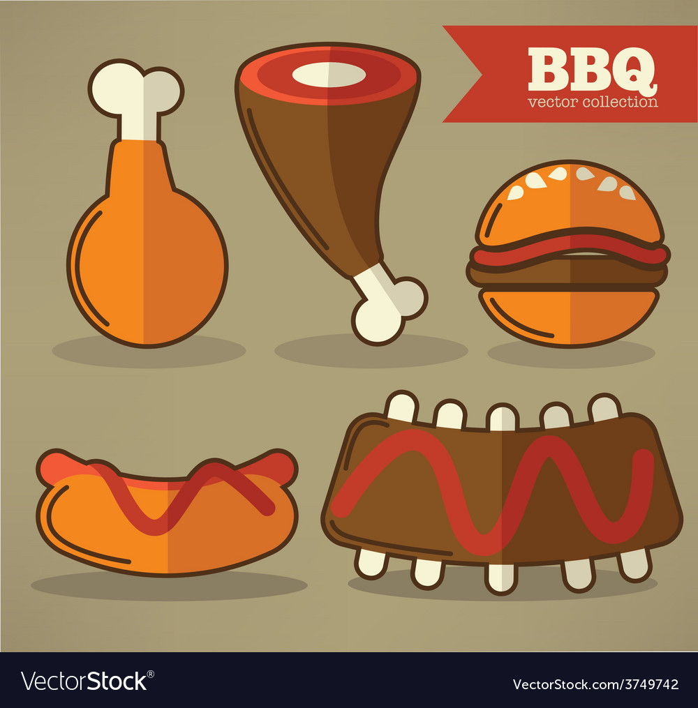 Flat bbq collection