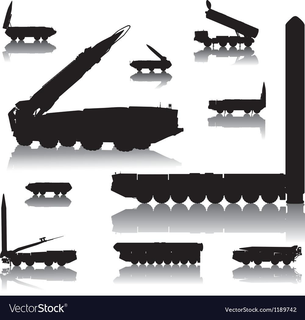 Launcher set vector image