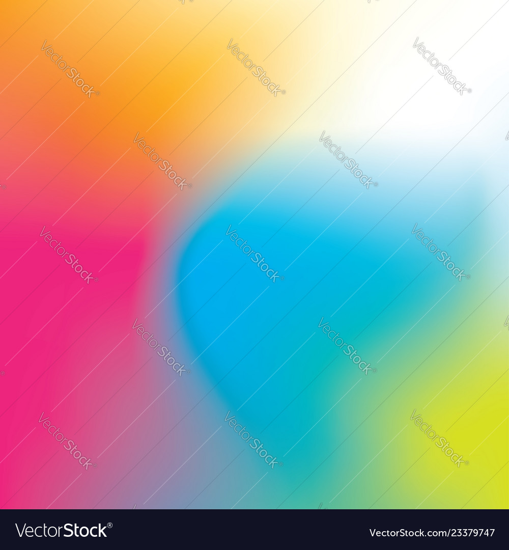 Colorful rainbow gradient