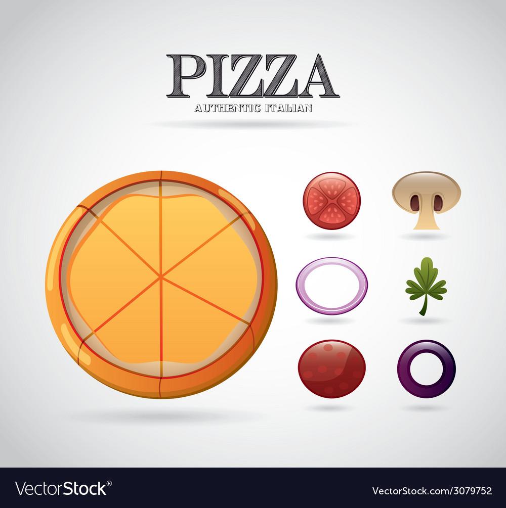 Pizza ingredients design