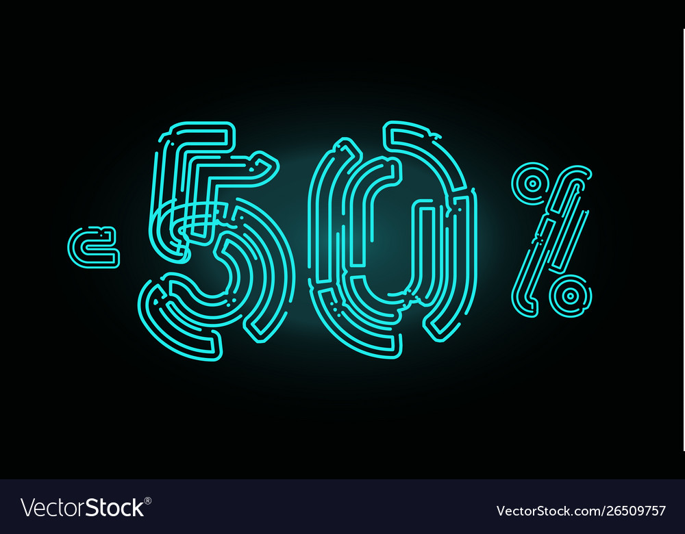 80 sale poster concept eighty percent discount