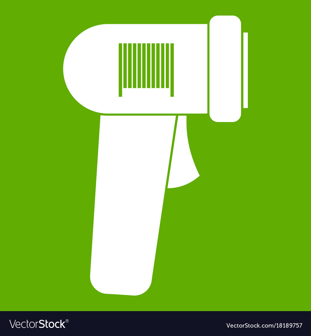 Barcode scanner icon green