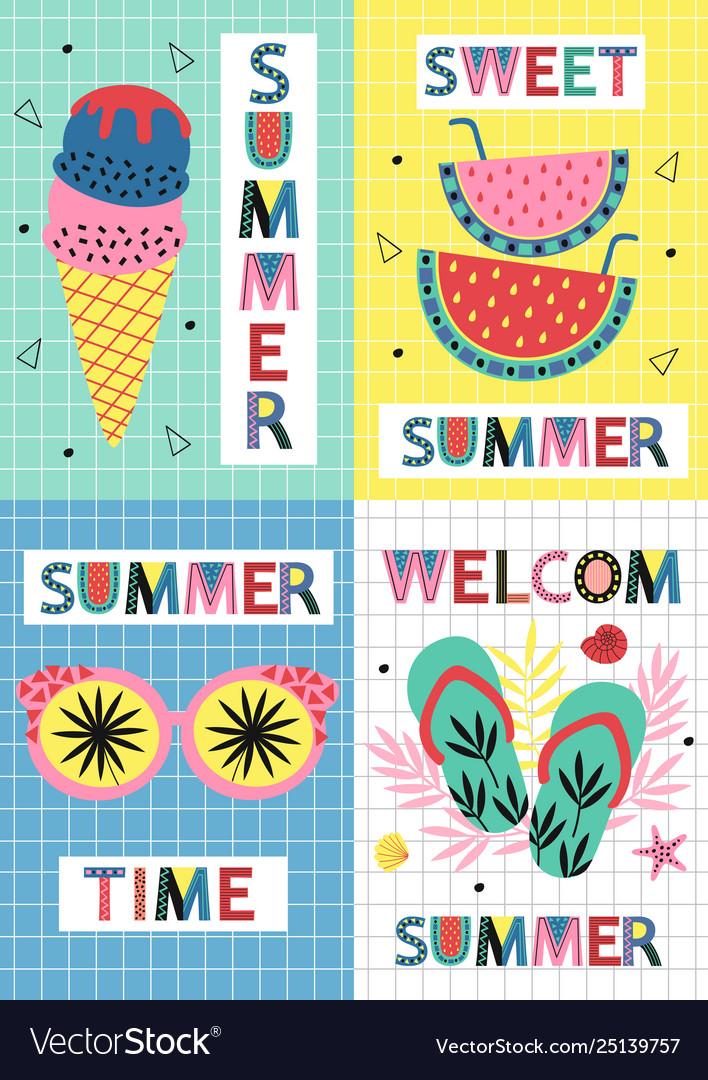 Set summer paradise cards part 2