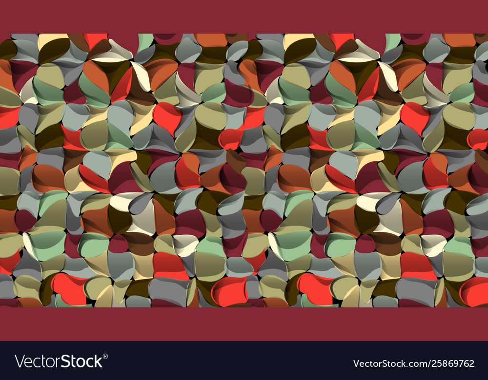 Artistic geometric abstract background 3d