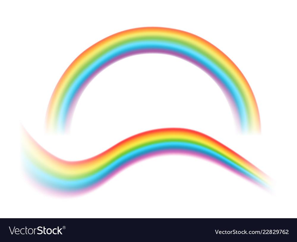 Transparent rainbows