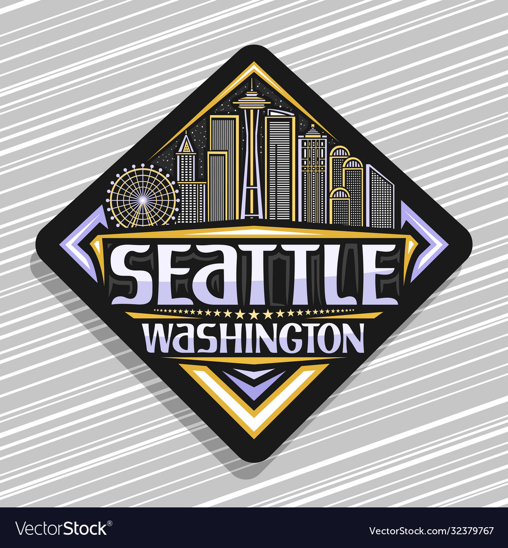 Label for seattle