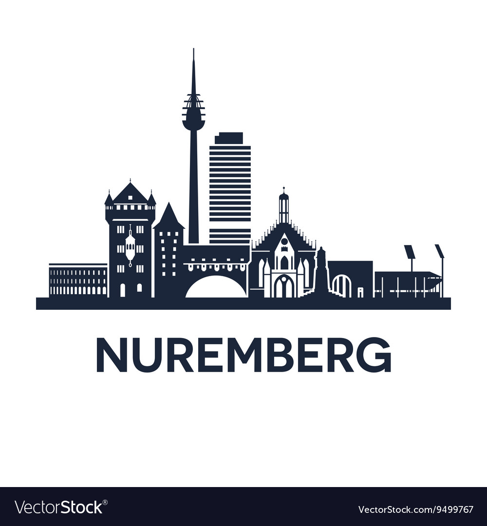 Nuremberg Skyline Emblem