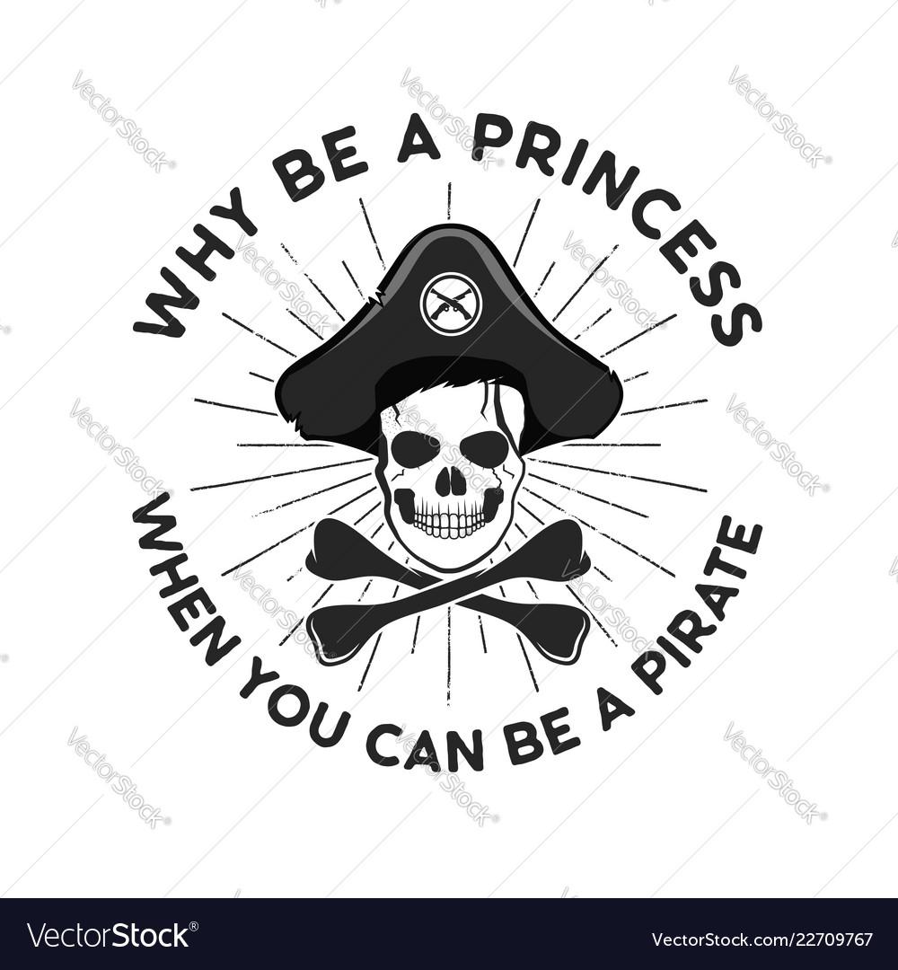 Pirate svg cut file emblem skull with sunbursts
