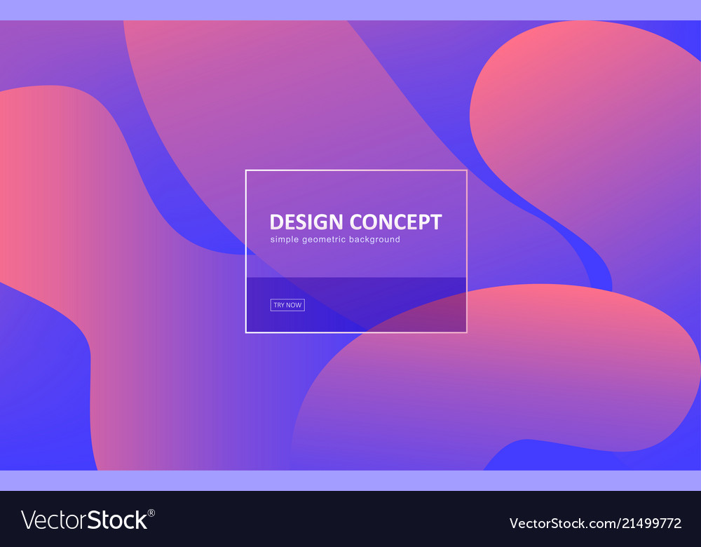Abstract background gradient geometric shape