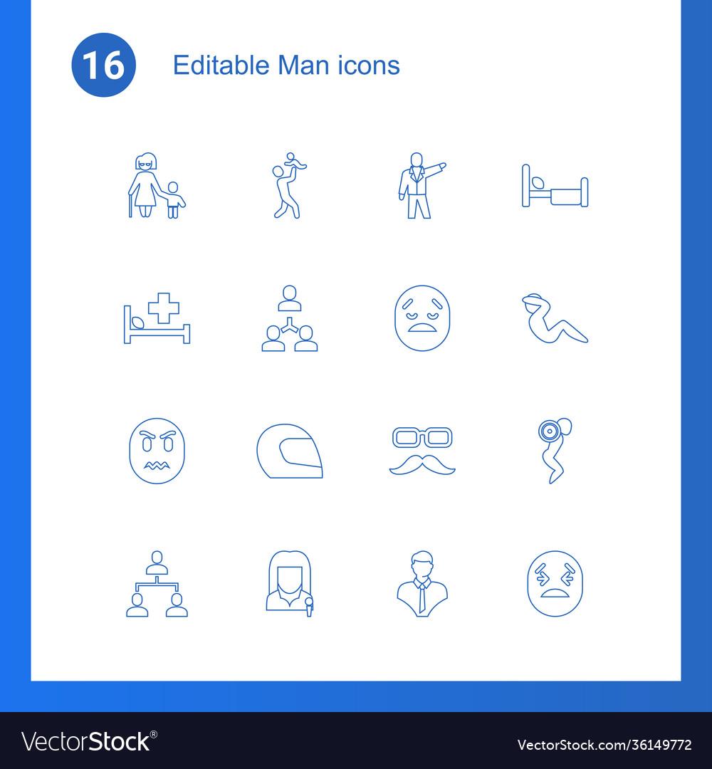 Man icons