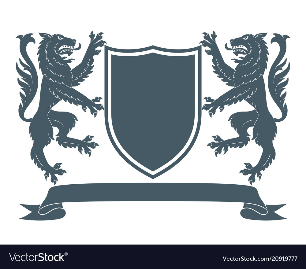 Coat of arms wolf