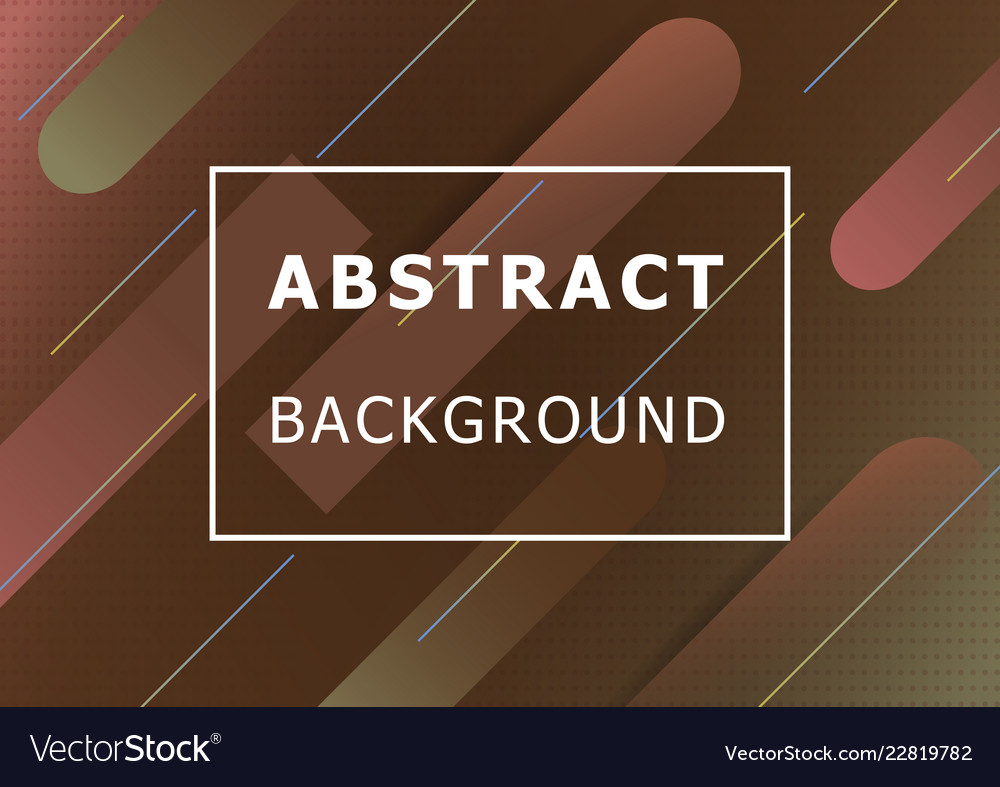 Abstract background with colorful shape
