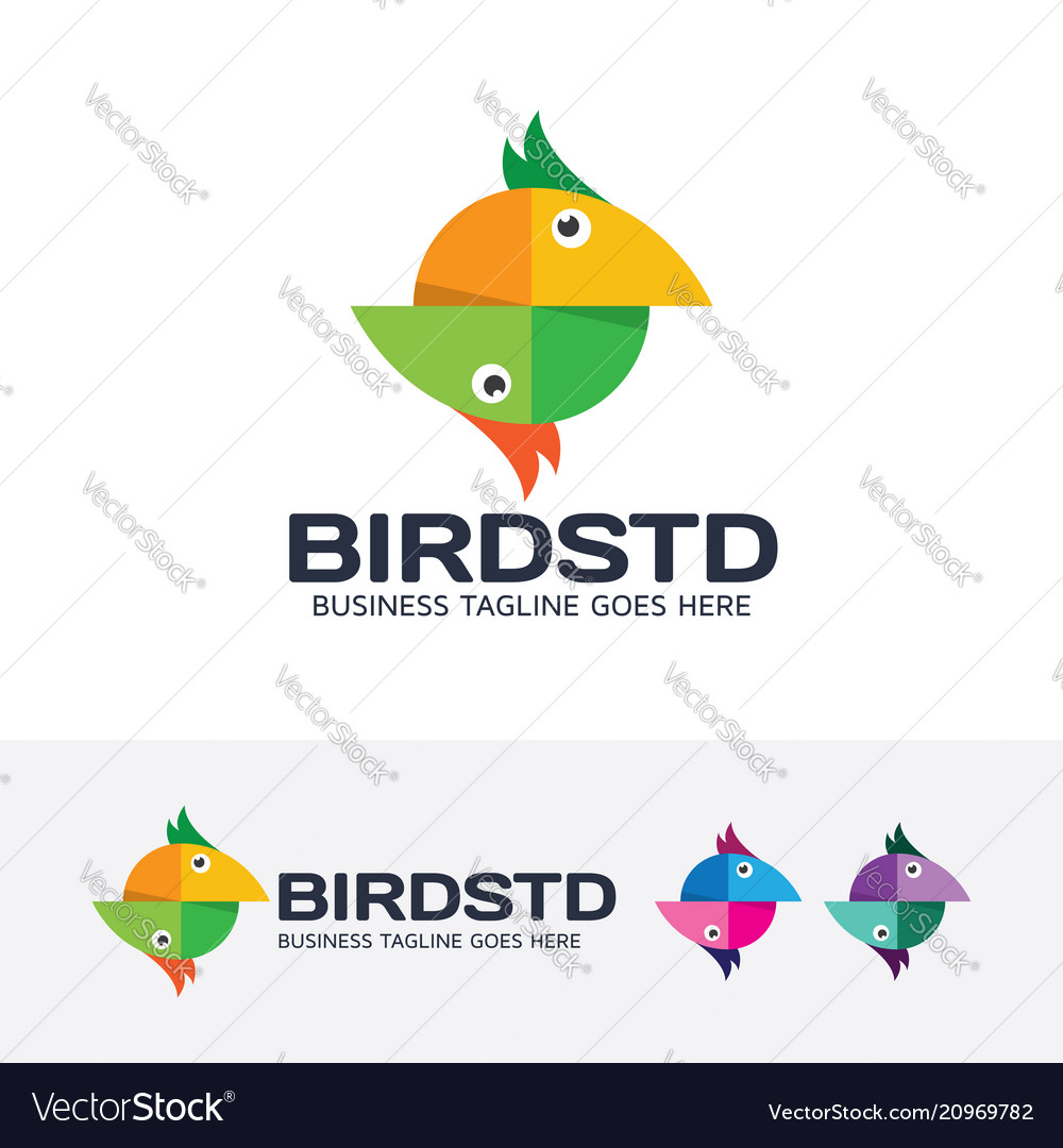 Bird studio logo design