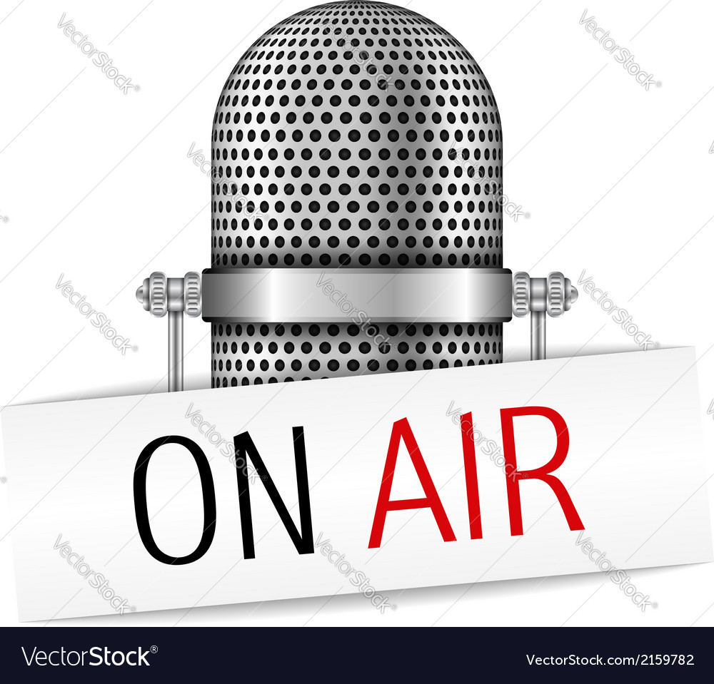 Microphone On Air