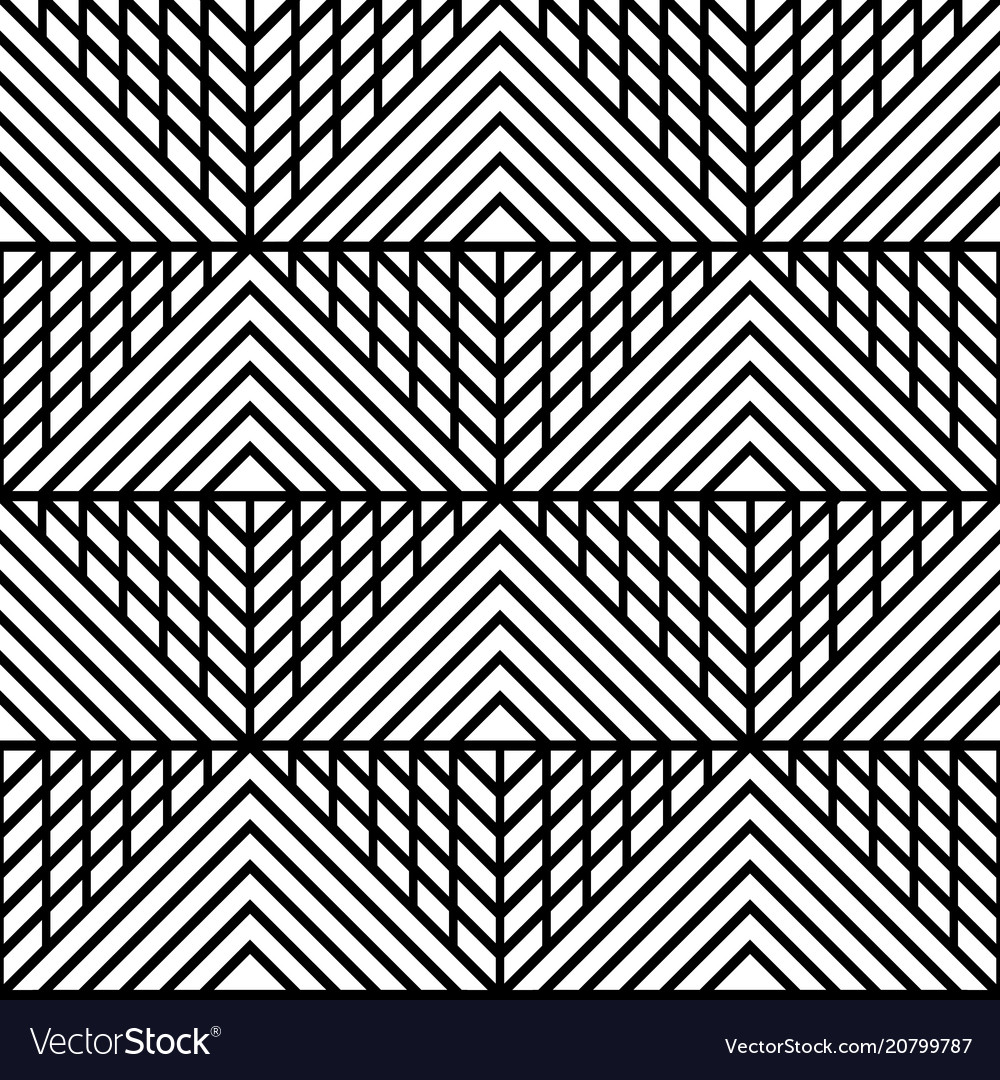 Abstract geometric seamless patterm