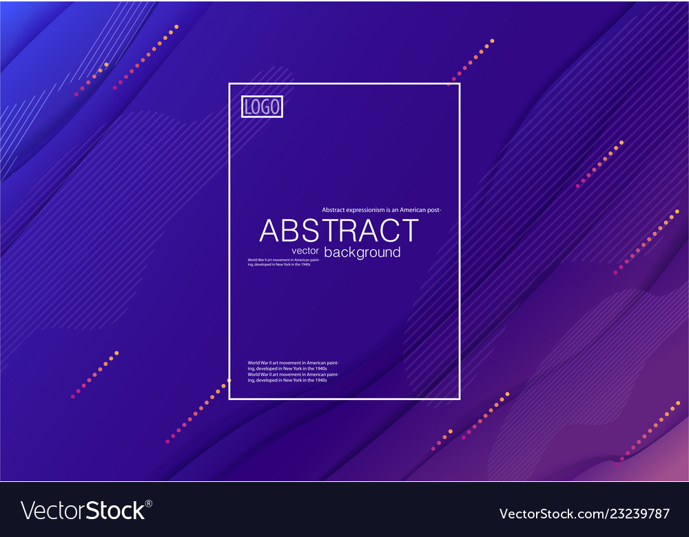 Abstract modern background geometric composition