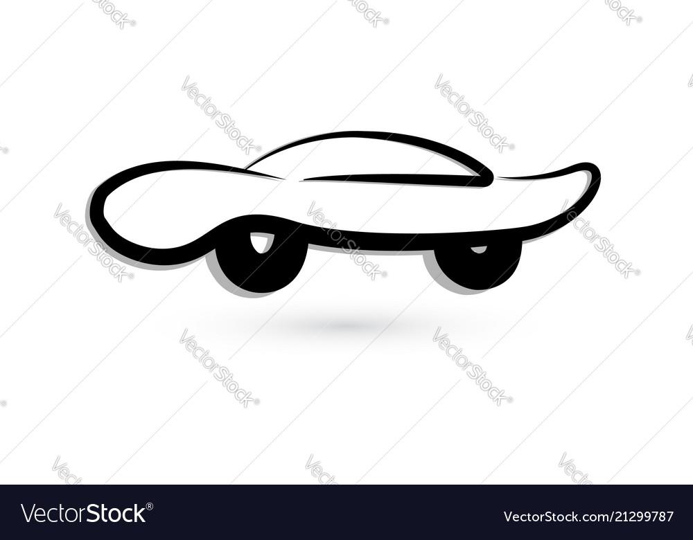 Car vintage symbol icon