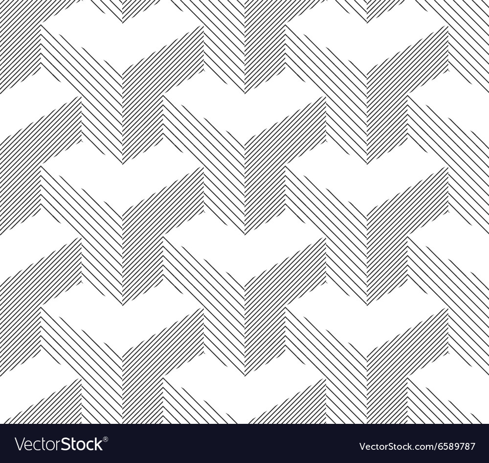 Seamless Geometric Pattern Halftone Background