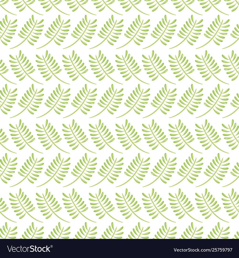 Exotic leafs palms pattern background