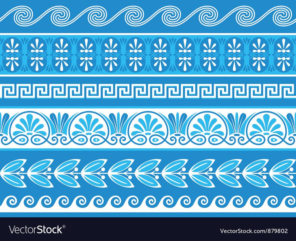 Decorative greek borders