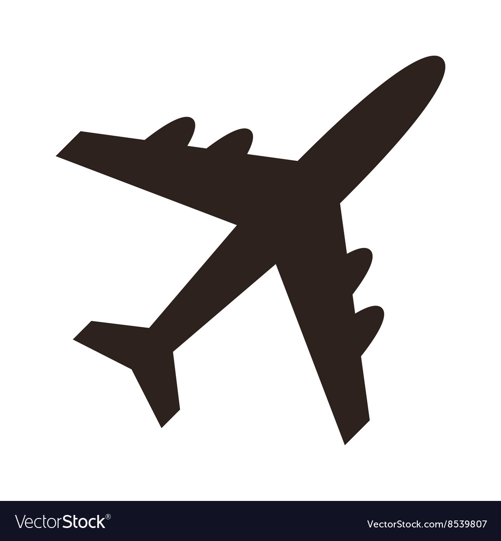 Plane Icon Royalty Free Vector Image Vectorstock