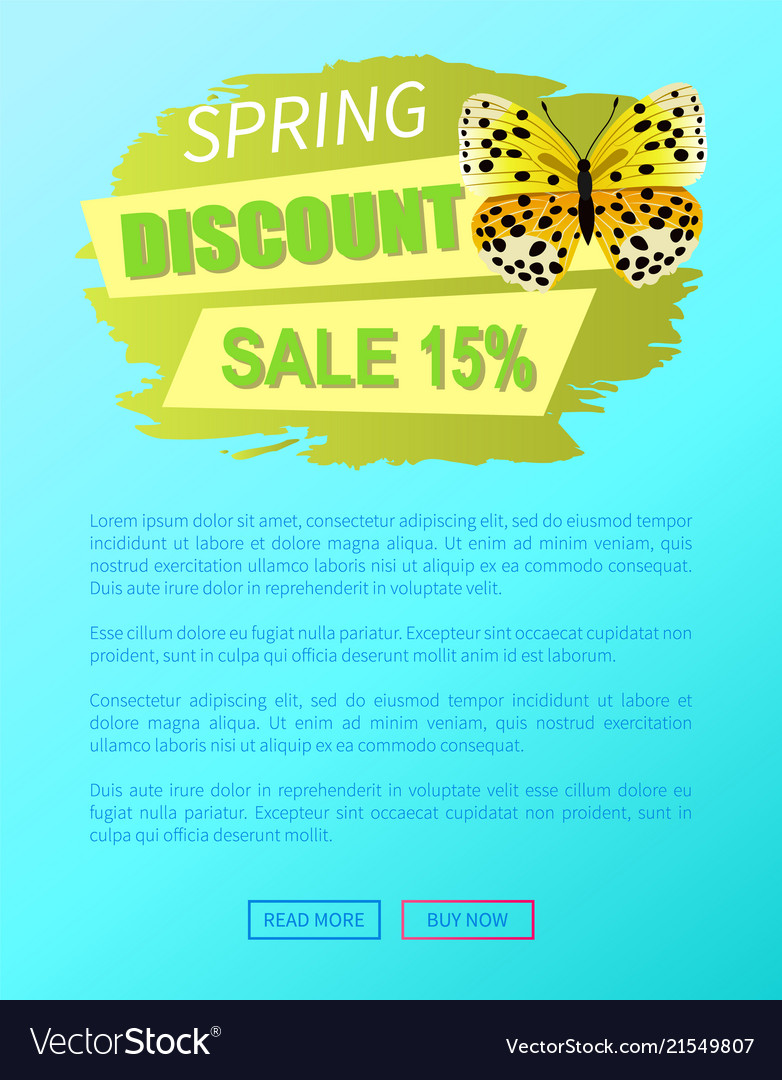 Spring discount sale 15 off butterfly yellow color