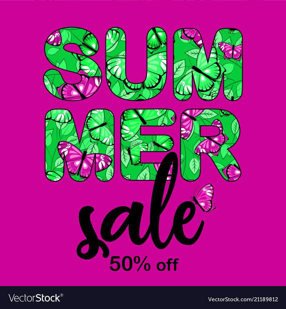 Summer sale bunner 1