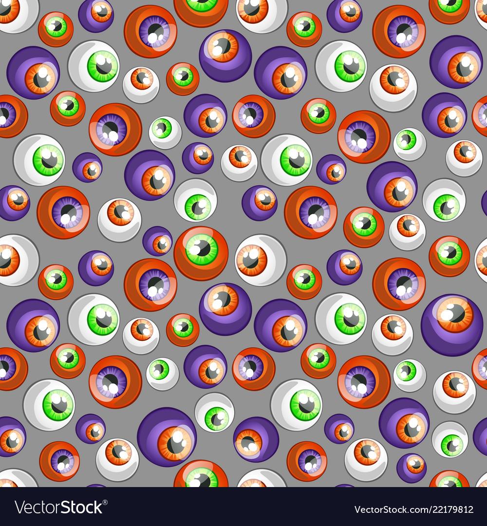 Texture of human colorful eyeballs isolated on
