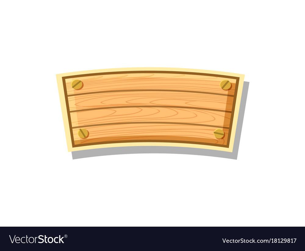 Wood board for app menu interface