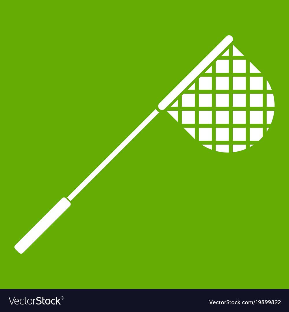 Fishing net icon green