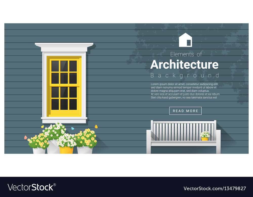 Elements of architecture window background 11