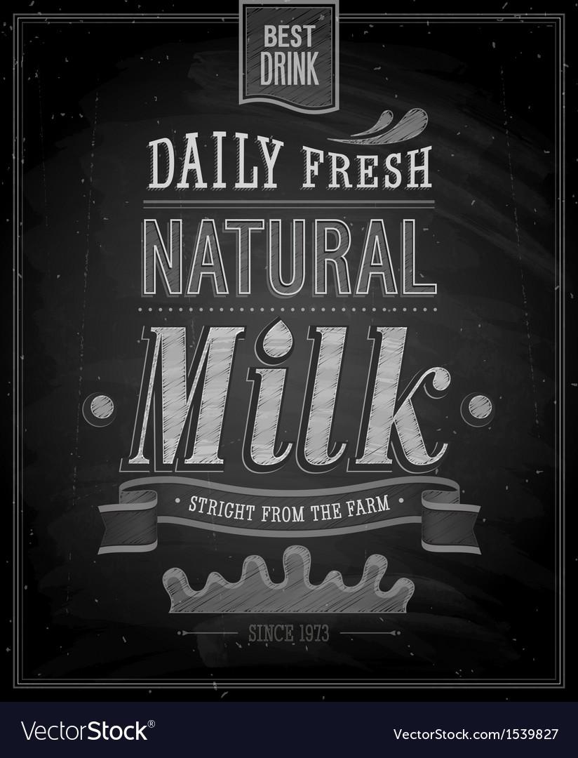 Natural Milk chalk