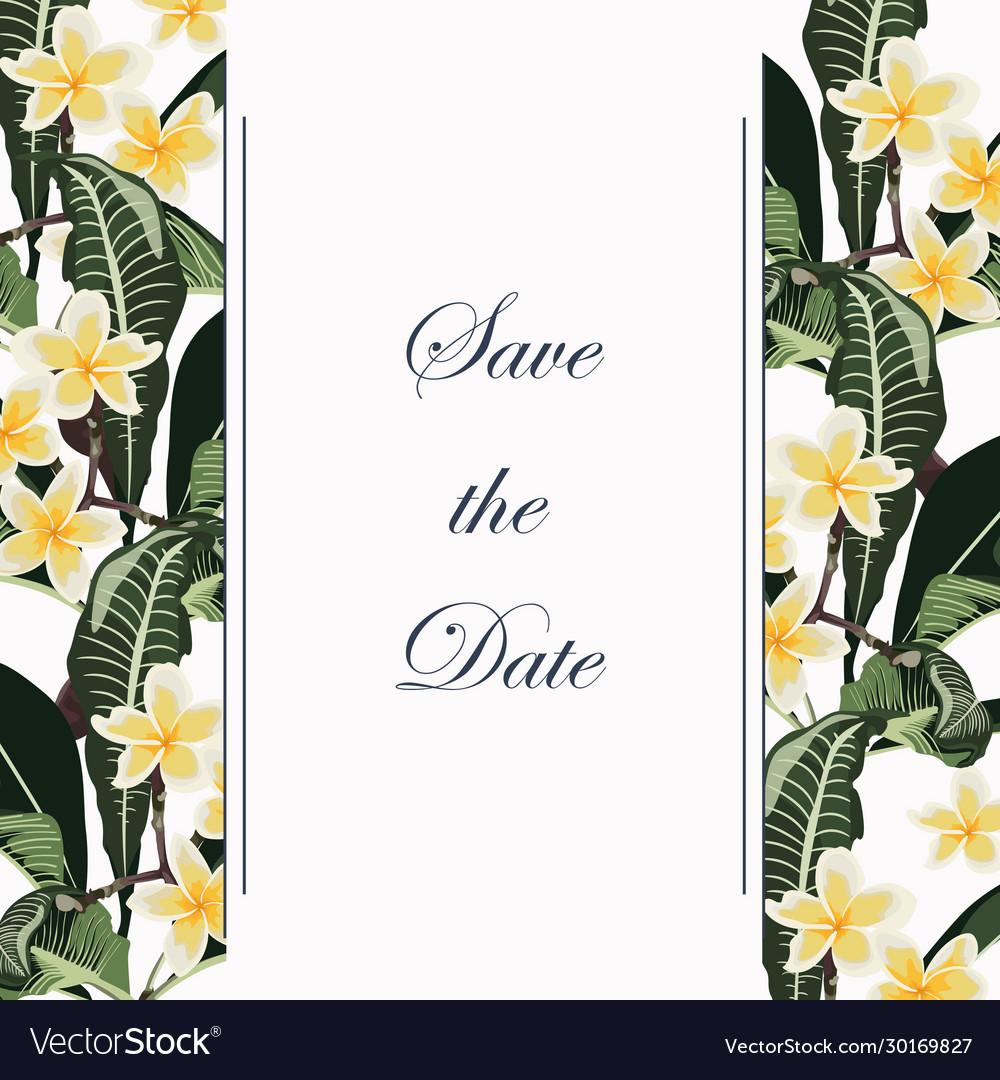 Wedding marriage event invitation vintage style