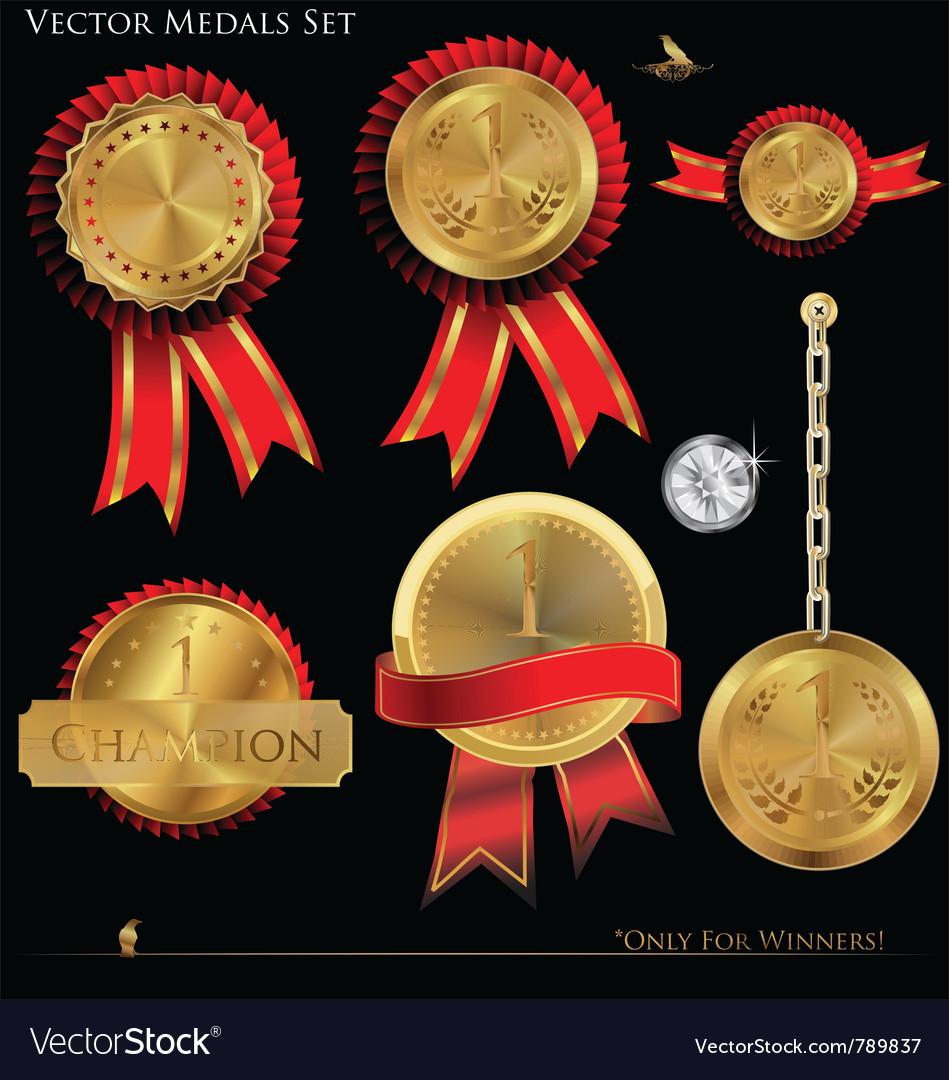 Gold medals set
