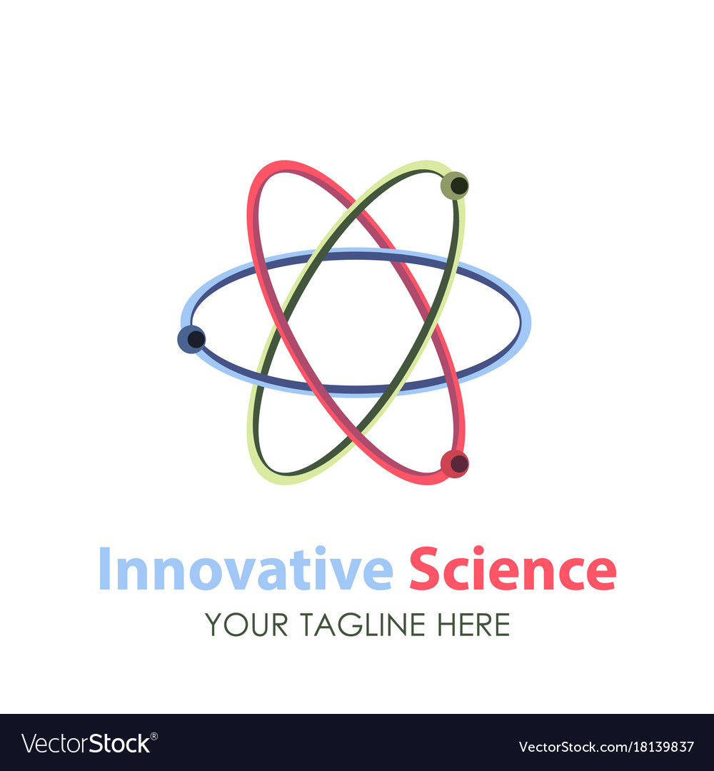 Logo science design icon technology abstract