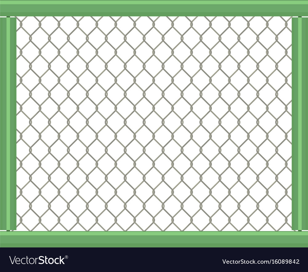 grid fence icon cartoon style royalty free vector image