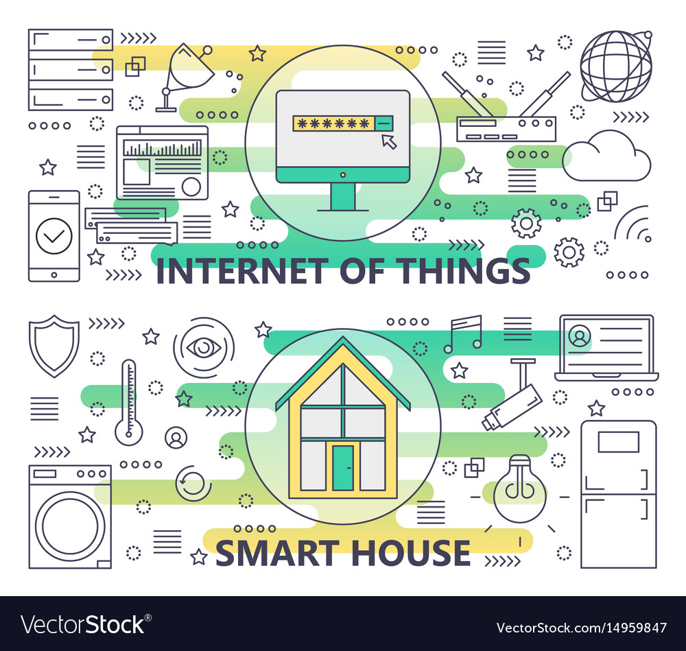 Thin line internet of things and smart