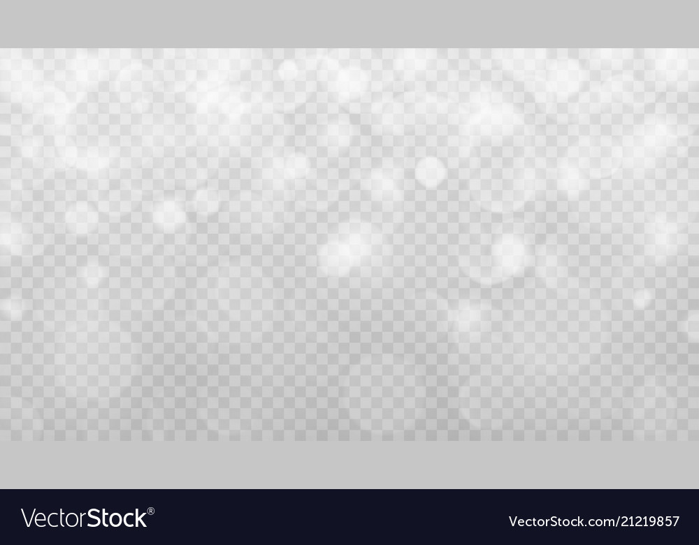 Abstract transparent bokeh background
