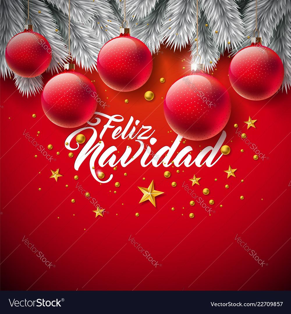 Christmas with spanish feliz