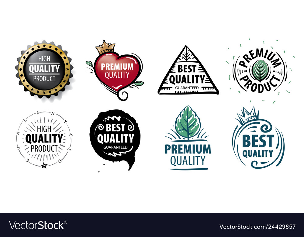 Mark of the best quality of the product