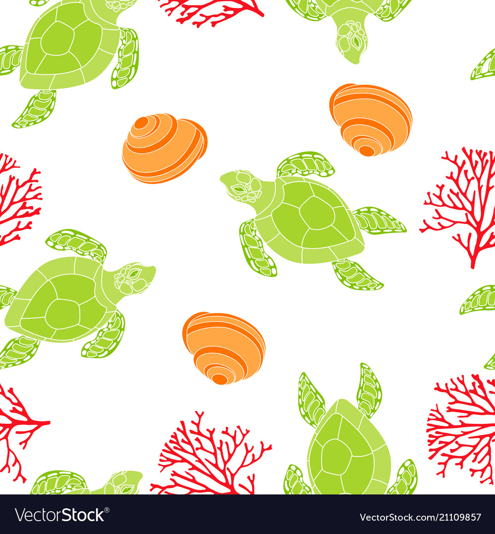 Pattern with turtle