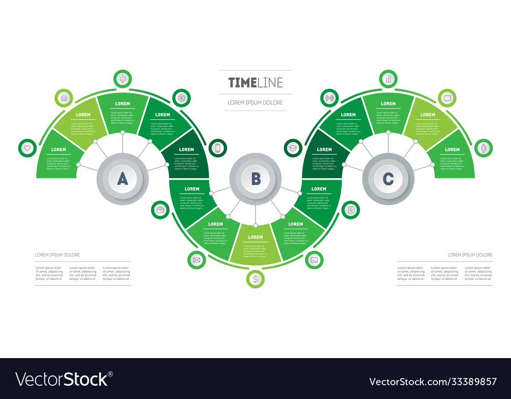 Presentation eco business with fifteen options