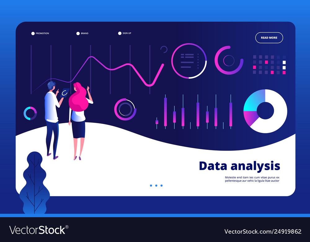 Data analysis landing big data digital center