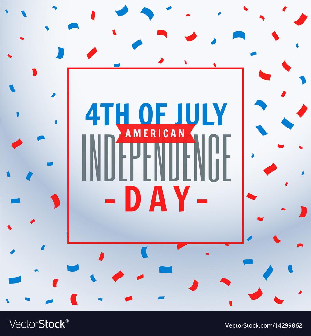 July 4th celebration background