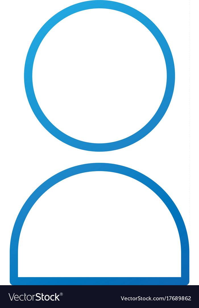 User icon human person symbol avatar login web