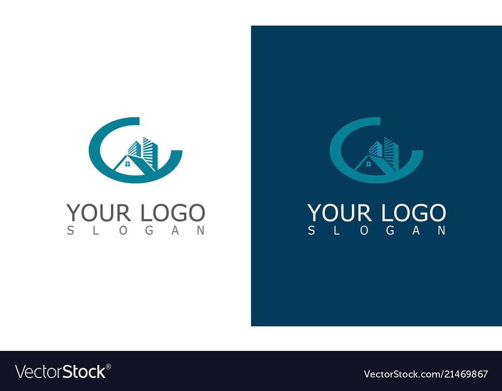 Buiding cityscape logo