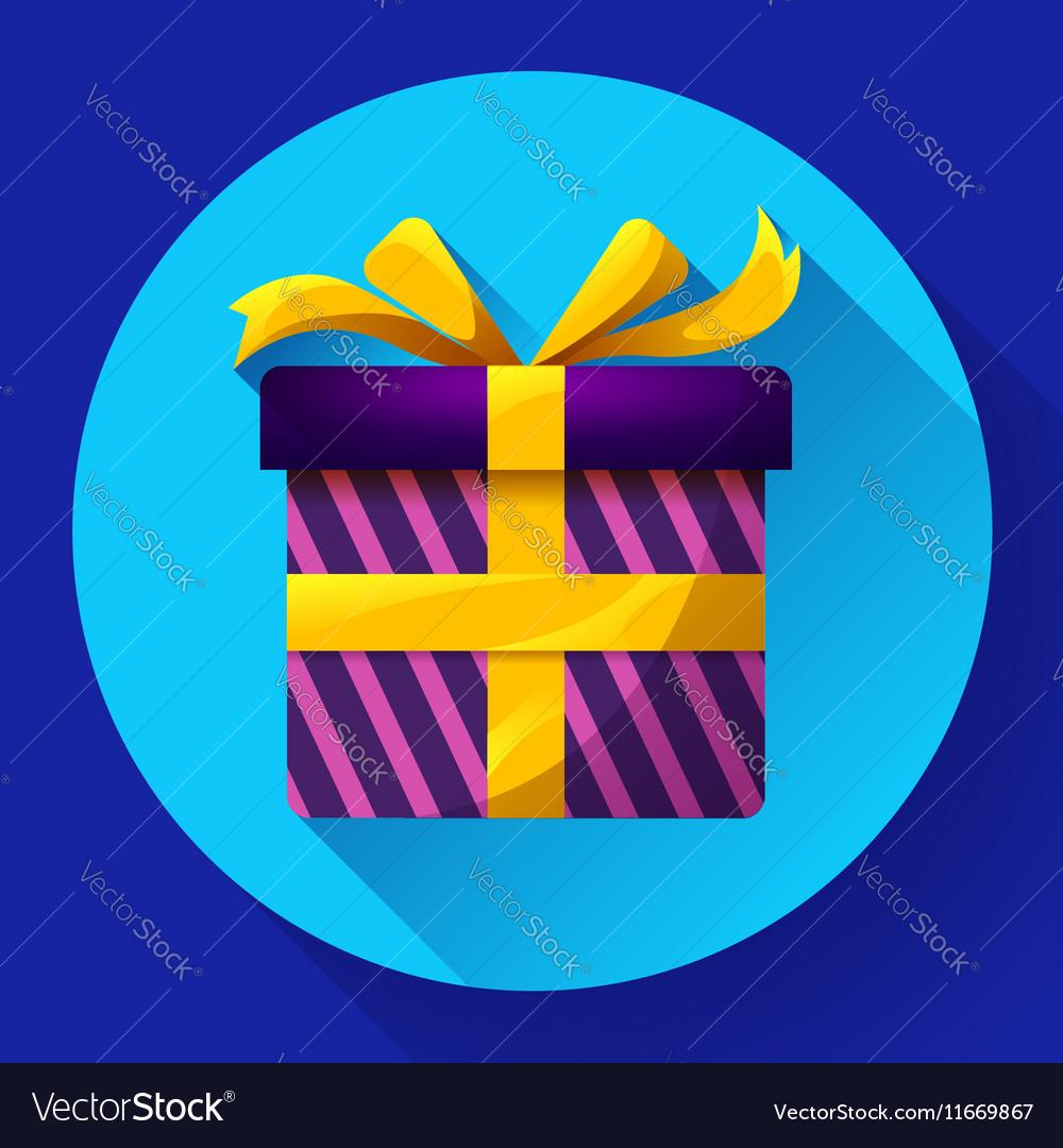 Gift Icon flat